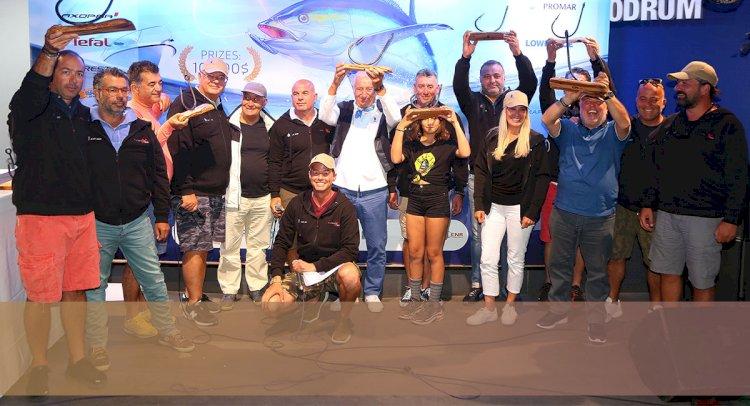 Usta Balıkçılar Gökova'da Buluştu