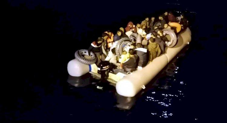 Datça'da 35 Kaçak Göçmen Yakalandı