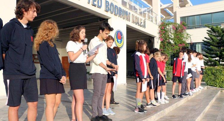 TED Bodrum'da Seçim Heyecanı...