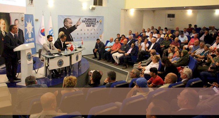 Ak Parti İlçe Danışma Toplantısı Yaptı