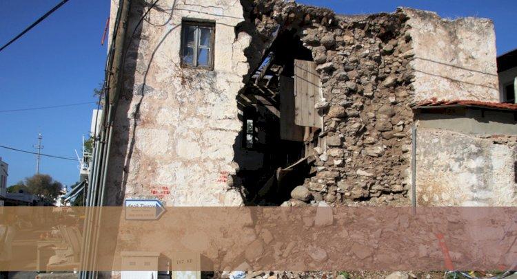 Tehlike Arz Eden Tescilli Bina Yıkıldı