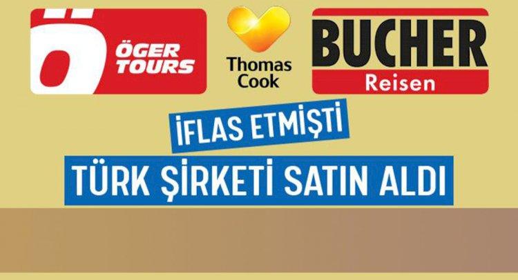 Türk Şirketi Thomas Cook Almanya'yı Satın Aldı