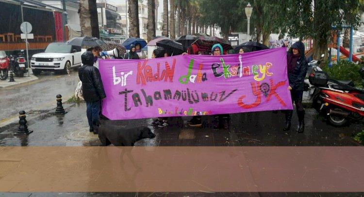 Yağmur Altında Eylem...