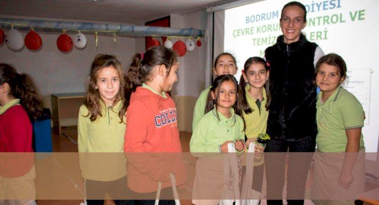 Çocuklara Çevre Bilinci Eğitimi...