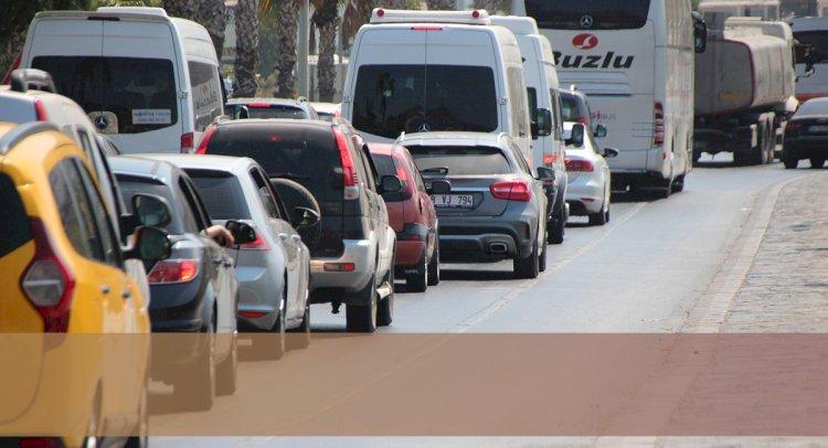 Muğla'da ki Araç Sayısı 506 Bine Ulaştı