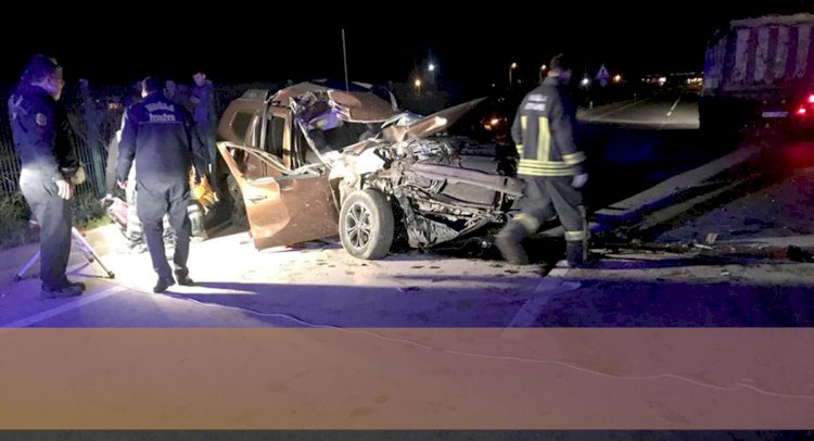 Alkollü Sürücü Kamyona Çarptı; 1 Ölü, 1 Yaralı!