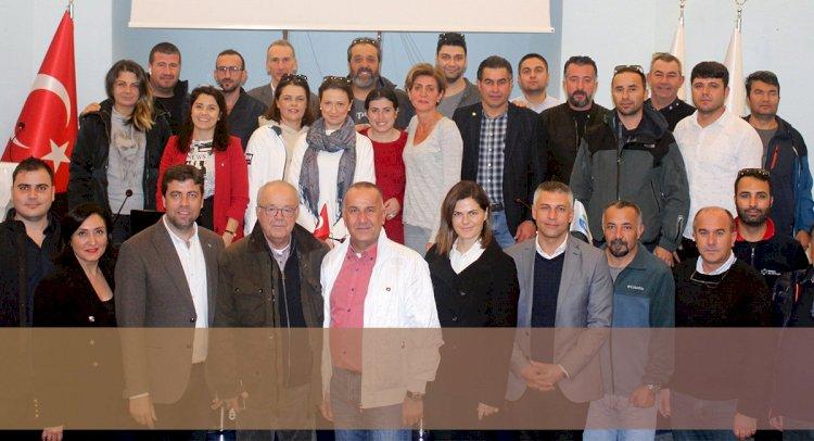 TURMEPA Bodrum'da Görev Değişimi