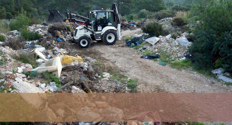 Doğaya Atılan 65 Ton Atık Toplandı!