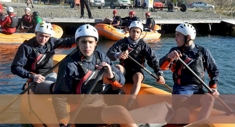 Rafting Milli Takımı Ortaca'da Kampta