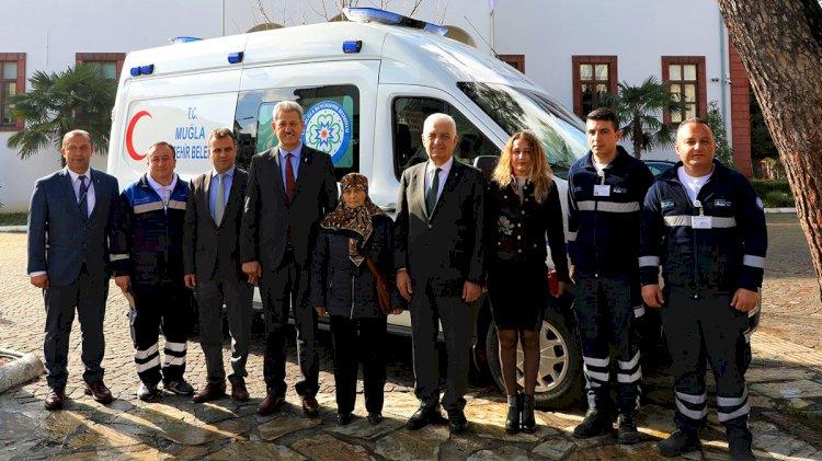 Hayırseverden Büyükşehir'e Ambulans...