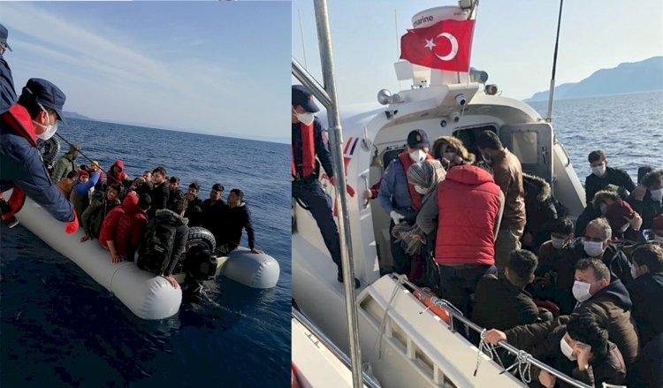Türk Sahil Güvenliği Kurtardı!
