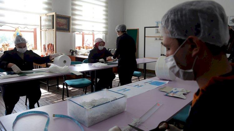 Muğla Milli Eğitim, Maske Üretimine Başladı