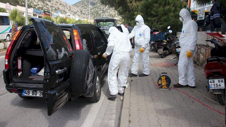 Belediyelerden Araçlara Dezenfeksiyon