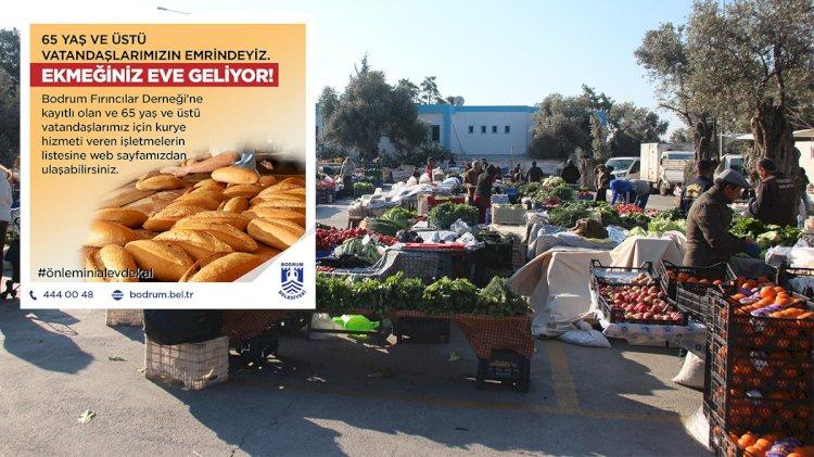 Market, Pazar ve Fırınlarda Düzenleme