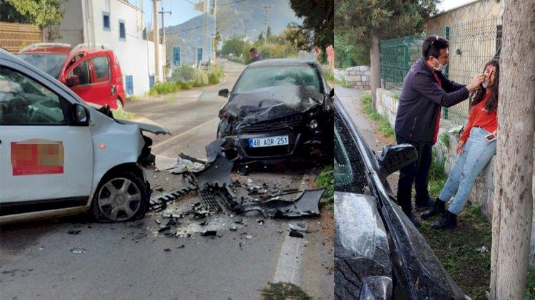Ortakent'te Kaza; 2 Yaralı!..