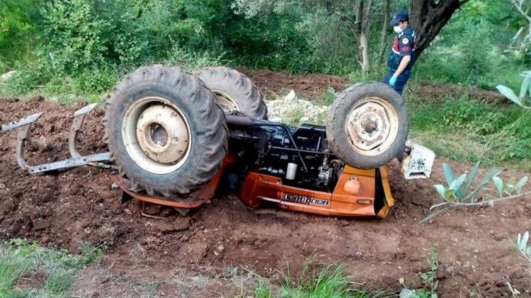Traktör Kazası Bir Can Daha Aldı