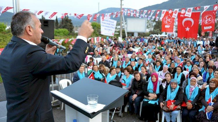 Bodrum MHP'de Sular Durulmuyor!..