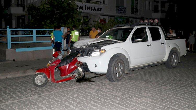 Kamyonetin Çarptığı Motosikletin Sürücüsü Öldü