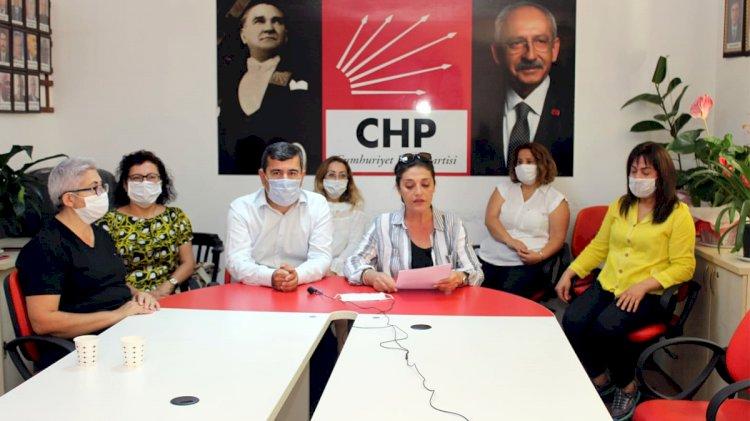 CHP'li Kadınlardan Cinayete Tepki