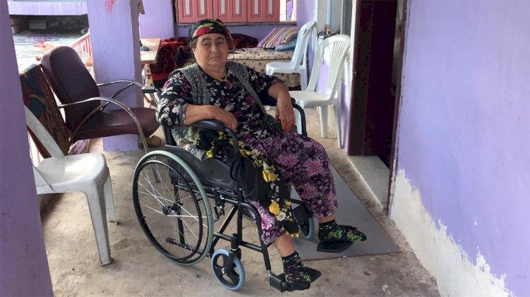 Şehit Annesine Tekerlekli Sandalye