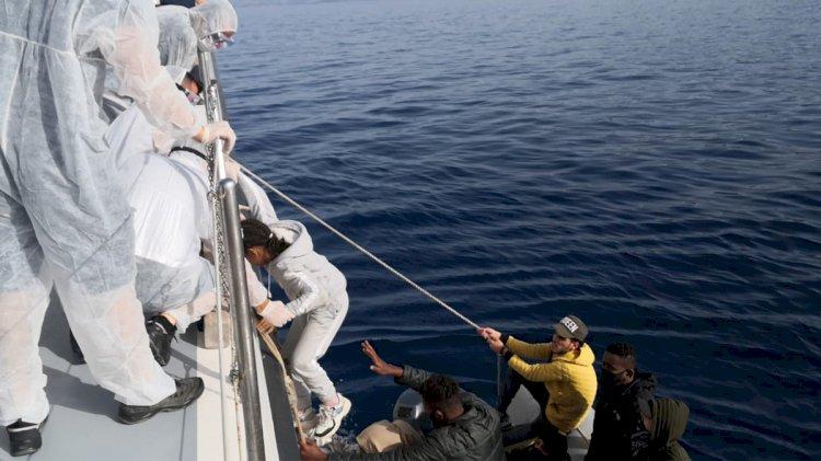 Yine Sahil Güvenlik Kurtardı...