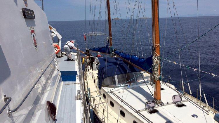 Yelkenliyle Kaçma Girişimi!..