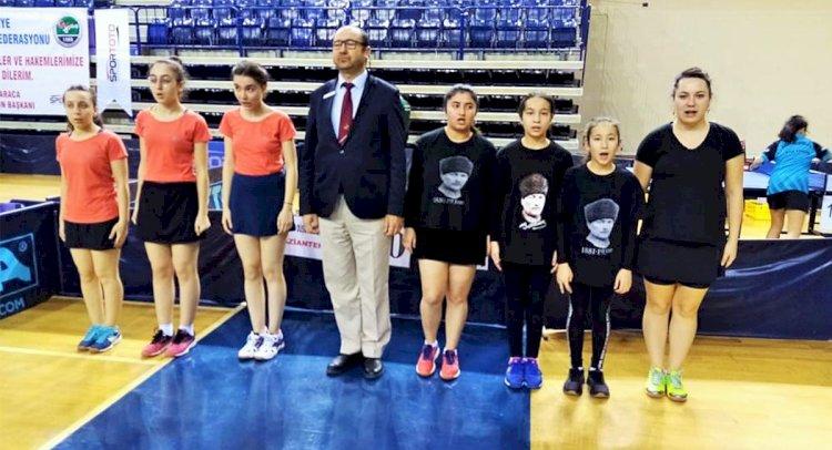 Büyükşehir'in Kadın Masa Tenisçileri 2. Lig'de