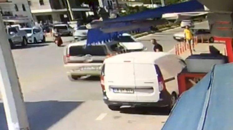 2 Araç Çarpıştı, 1 Çocuk Yaralandı!
