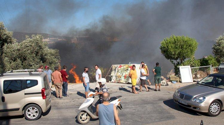 Çırkan'da Korkutan Yangın!..