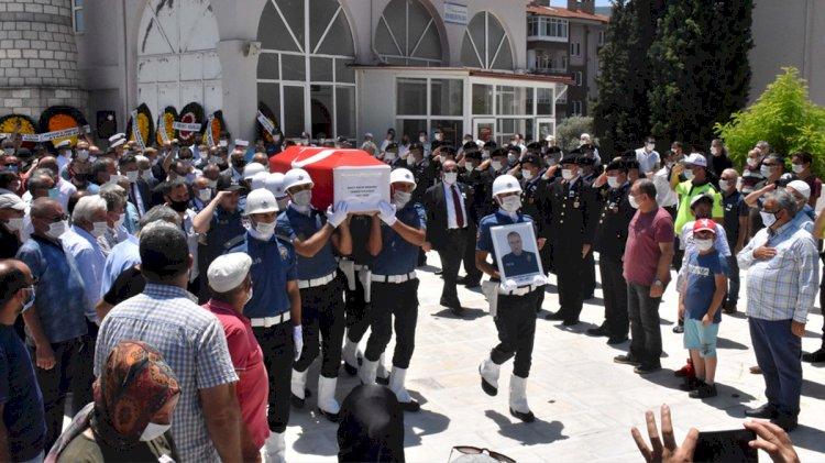 Şehit Polis, Muğla'da Son Yolculuğuna Uğurlandı