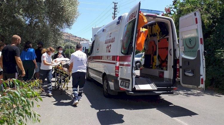 Bir Motosiklet Sürücüsü Daha Yaralandı!