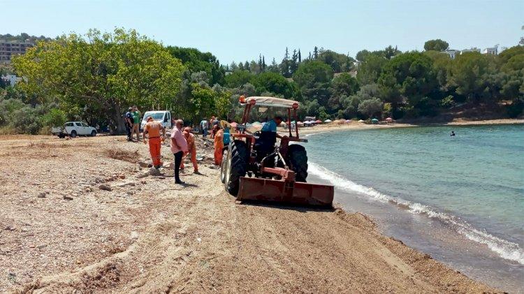 Güllük'te Yeni Halk Plajı Hizmete Girdi