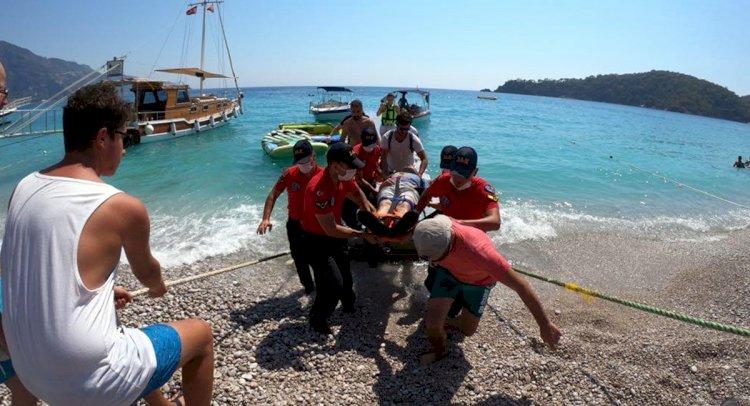 Denize Düşen Yamaç Paraşütçüsü Ağır Yaralı