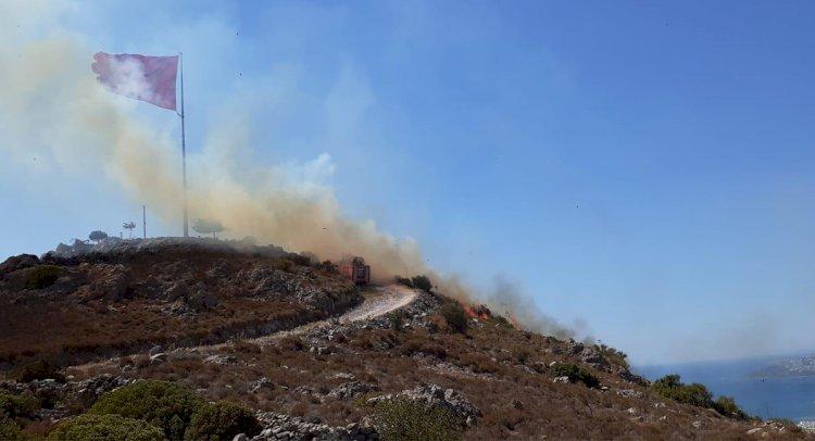 Turgutreis Bayraktepe'de Yangın!