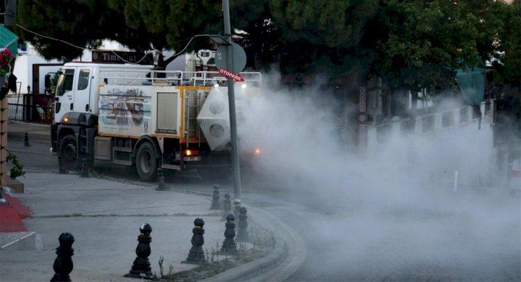 Sokaklar Dezenfekte Edildi...