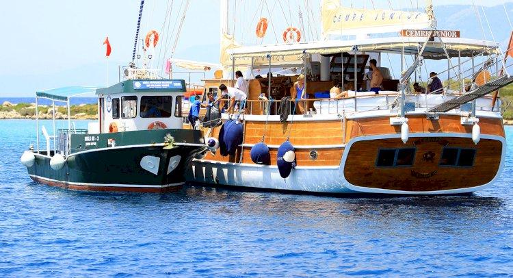 Bayramda Teknelerden 110 Ton Katı Atık Toplandı