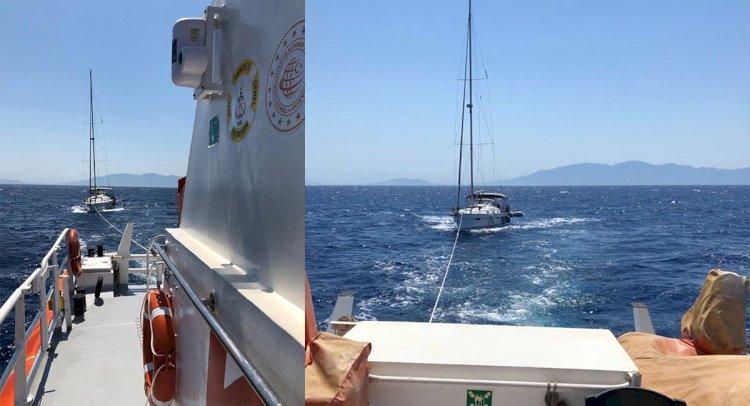 Sürüklenen Teknedeki 4 Kişi Kurtarıldı