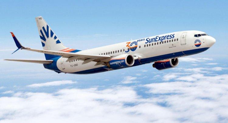 SunExpress Türkiye uçuşlarını artırdı