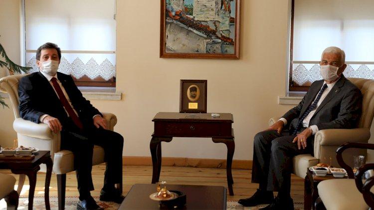 Valisi Tavlı'dan, Başkan Gürün'e Ziyaret