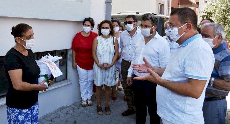 Tokat'tan Saldırıya Uğrayan Kadına Ziyaret
