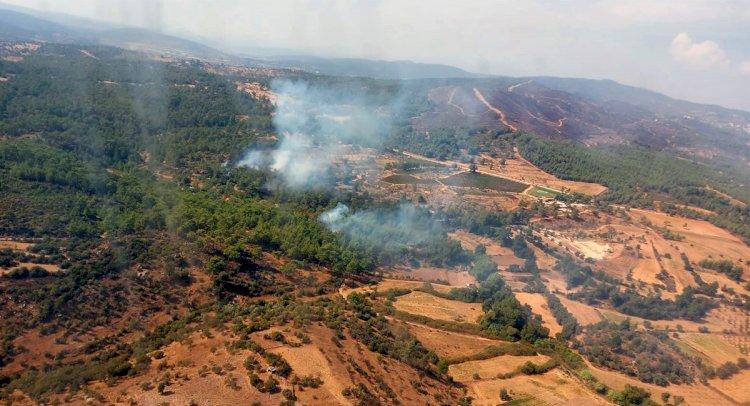Beyciler'de Orman Yangını!..