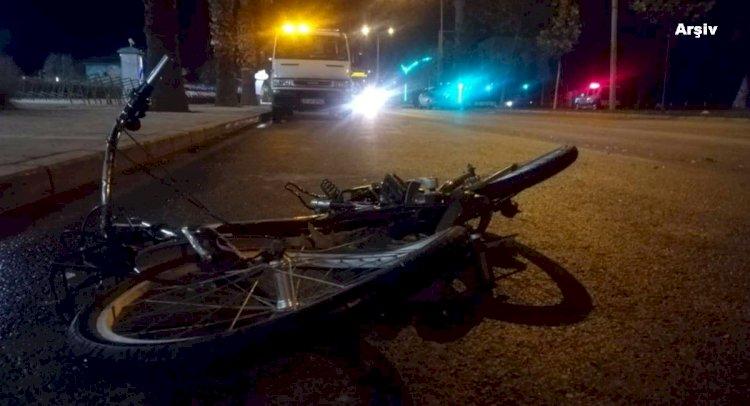 Bir Aracın Çarptığı Bisikletli Öldü!