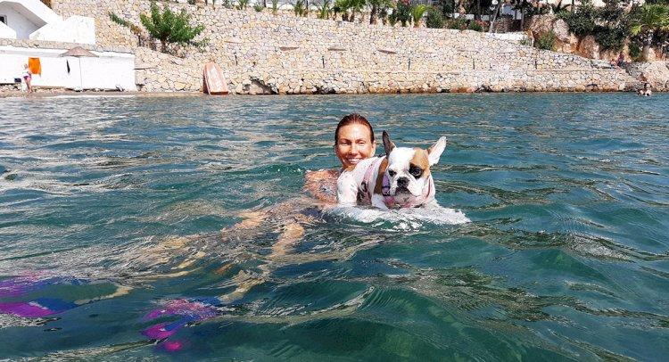 Yüzme Öğrenirken Sörf Tutkunu Oldu