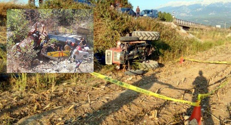 2 Ayrı Traktör Kazasında, 2 Ölü!..