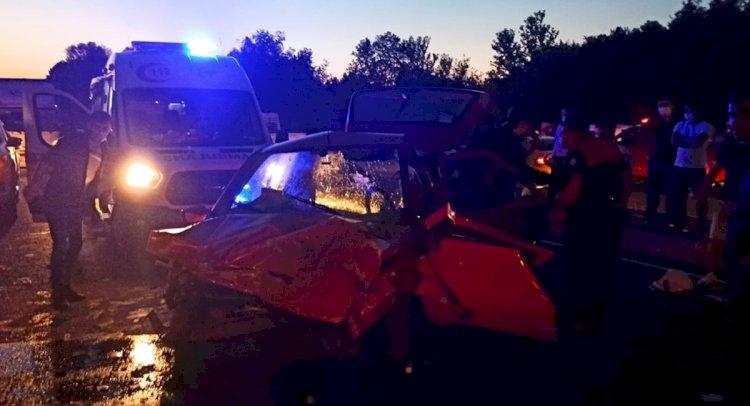2 Otomobil Çarpıştı, 1 Kişi Öldü!