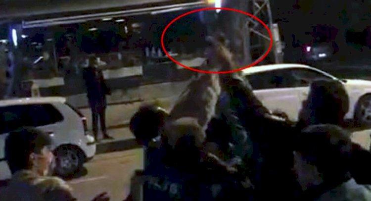 Mekan Kapısında Olay Çıkaran Polise Gözaltı!