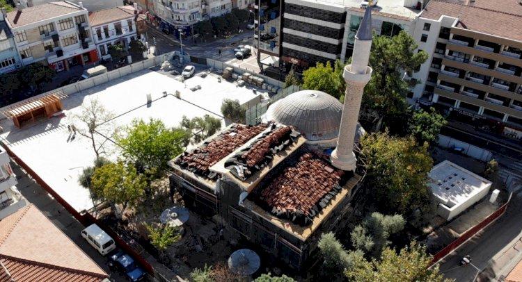 Kurşunlu Cami'sinde Restorasyon Sürüyor