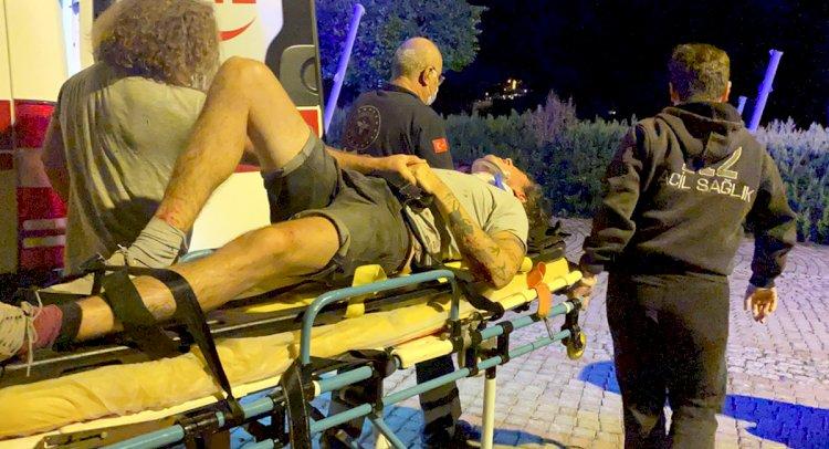 Sürat Teknesi Karaya Çarptı: 5 Yaralı!
