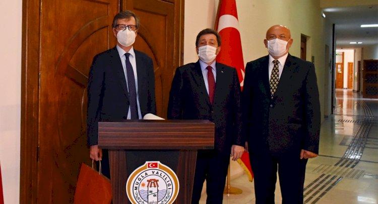 Avusturya Büyükelçisi Muğla'da İdi...