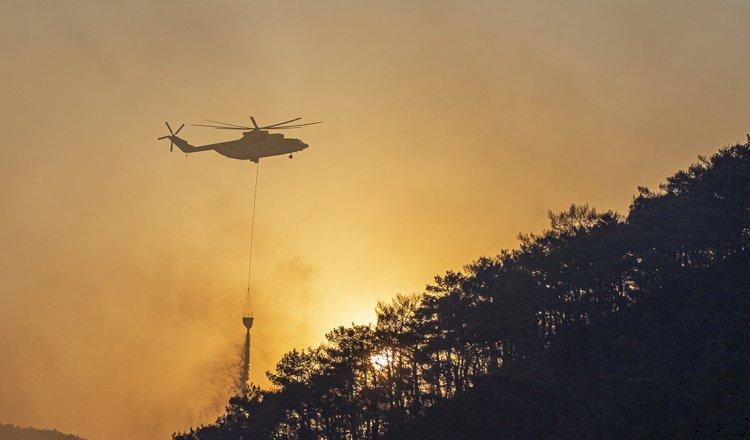 Kartal Helikopterin Görevi Sona Erdi